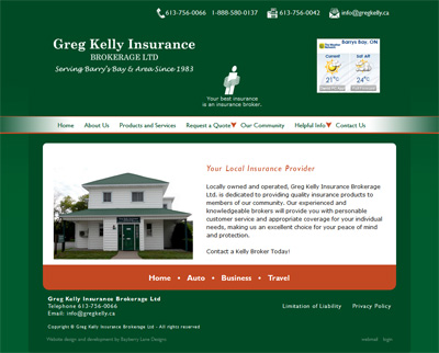 gregkelly.ca home page