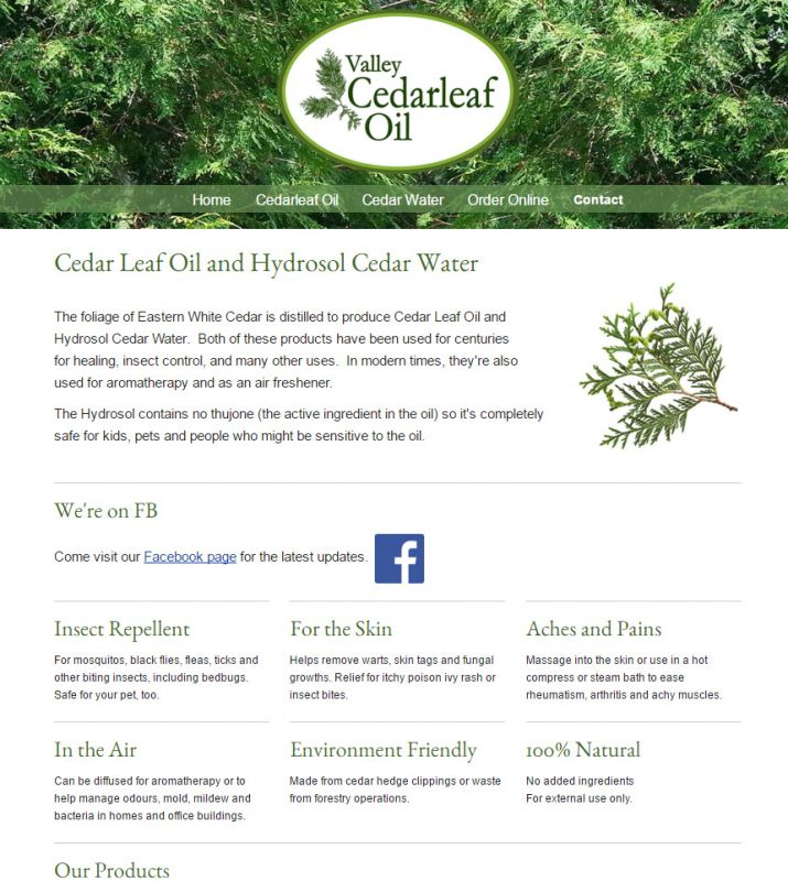 valleycedarleafoil.ca Home Page